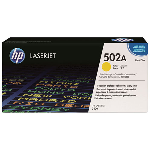 West Point 200084P HP Q6472A Yellow LaserJet Toner from Am-Dig