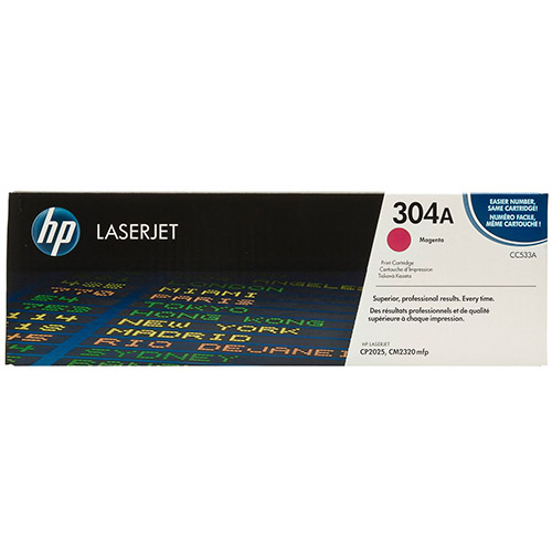 West Point 200130P HP CC533A Magenta Color Laser from Am-Dig
