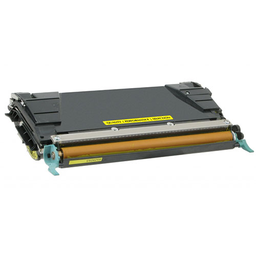 West Point 200517P Hi Yld Yellow Toner for Lexmark from Am-Dig