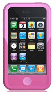 Xtrememac 01567: Pink Tuffwrap Case for iPhone 3G from Am-Dig
