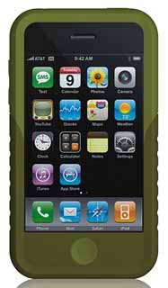 Xtrememac 01570: Green Tuffwrap iPhone 3G Case from Am-Dig