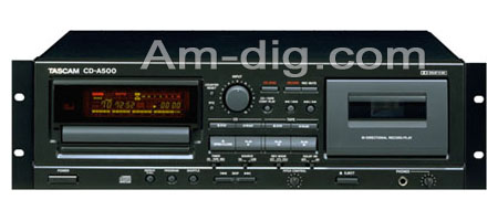 Tascam CD-A500 from Am-Dig
