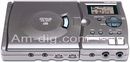 Tascam CD-BT1 from Am-Dig