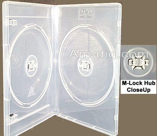 DVD Case - Clear Double from Am-Dig