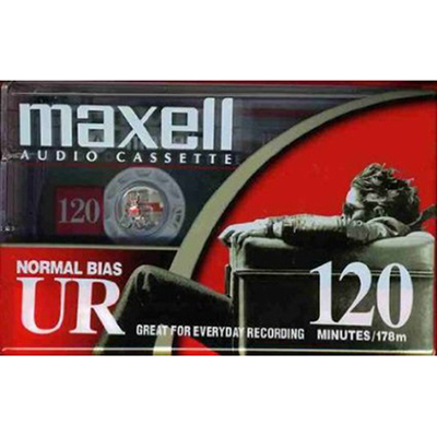 Maxell UR120 Blank Audio Cassette Tape from Am-Dig