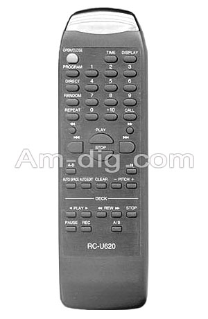 Denon RC-U620 IR Remote from Am-Dig