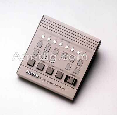 Tascam RC-808: Remote Control Unit from Am-Dig