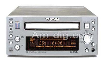 Tascam CD-RW4U from Am-Dig