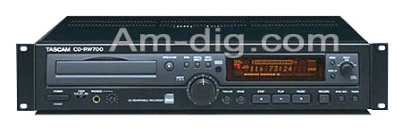 Tascam CD-RW700 from Am-Dig