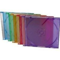 Multi Color CD Jewel Cases