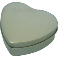 All &#9829; Shaped Tin Cases