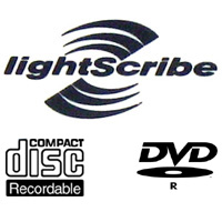Lightscribe CD-R & DVD Media