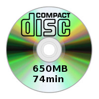 See what's in the CD-R 650MB / 74 Min category.