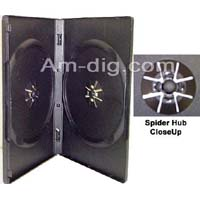 Double DVD & CD Cases