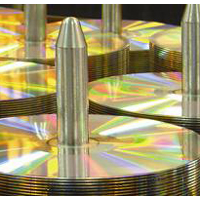 Gold CD/DVD Optical Media