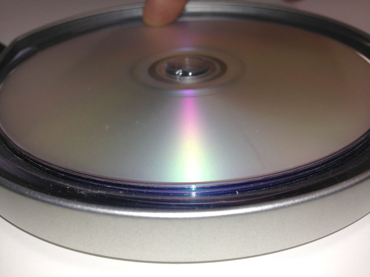 Disc Removal Step One