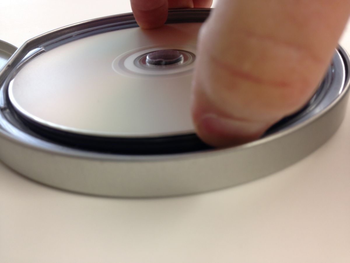 Disc Removal Step Two