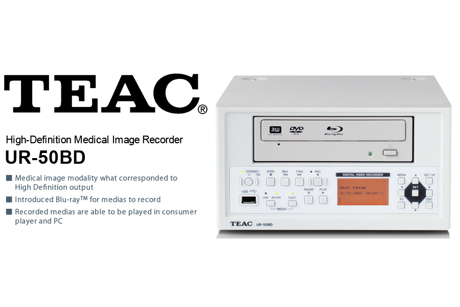 TEAC High Definition Medical Recorder