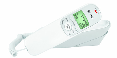 ATT 1909: White Corded Handset  from Am-Dig