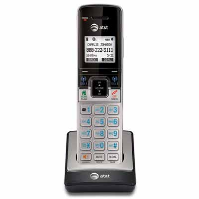 ATT TL90073: Silver/Black 1 Cordless Handset Phone from Am-Dig