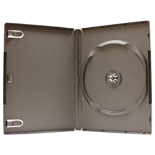 DVD Case - Black Single 14mm 100% Virgin USA Made from Am-Dig