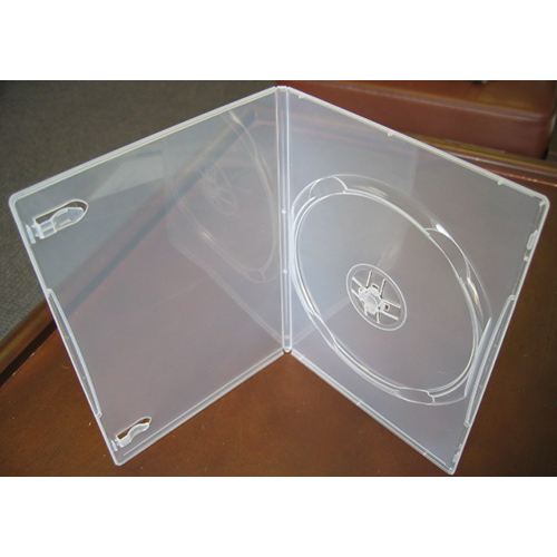 DVD Case - Super Clear Single 7mm Spine Slim Style from Am-Dig