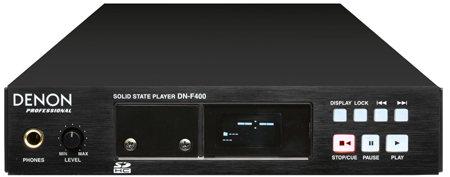 Denon DN-F400 Professional SolidState Audio Player from Am-Dig