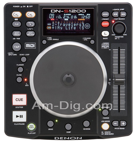 Denon DN-S1200 CD/USB Media Player & Controller from Am-Dig
