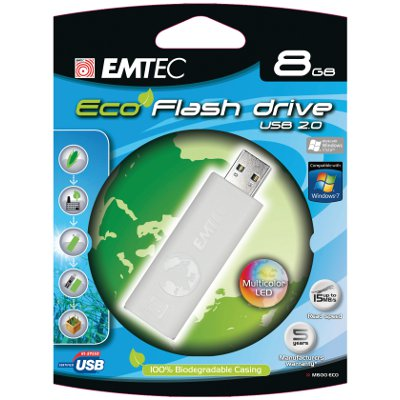 EMTEC EKMMD4GM600 Flash Drive 4GB M600 Eco from Am-Dig
