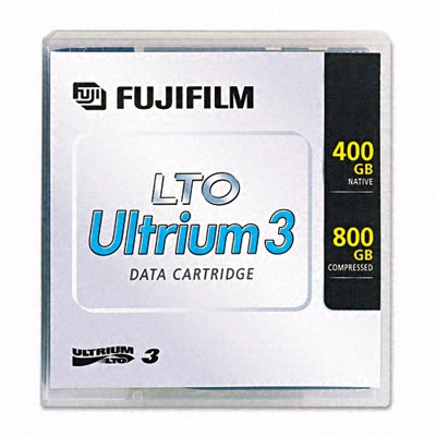 Fuji 15539393: 1/2'' Ultrium LTO3 Cartridge 2200ft from Am-Dig