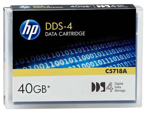 Hewlett Packard C5718A: DDS-4 Data Cartridge 40GB from Am-Dig