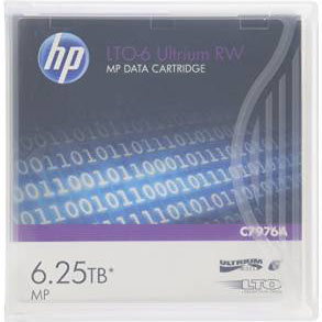 HP C7976A LTO Ultrium Vi -- 2.5TB/6.25TB from Am-Dig