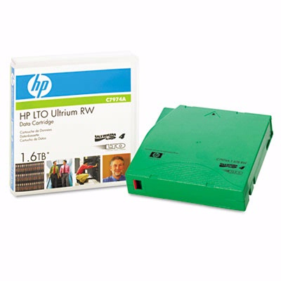 Hewlett Packard C7974A: 1/2 Ultrium LTO-4 Cartridg from Am-Dig