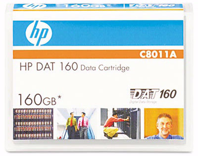HP C8011A 8mm DAT 160 Cartridge 150m 80GB/160GB from Am-Dig
