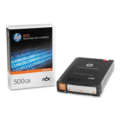 HP Q2042A: RDX 500GB Cartridge 7A, 500GB/1TB from Am-Dig