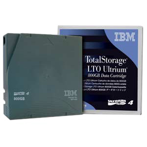 IBM 95P4437 LTO Ultrium-4 800GB/1.6TB with Barcoded Lab
