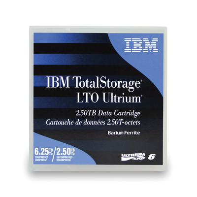 IBM 00V7590 Ultrium LTO-6 Cartridge 2.5TB/6.25TB