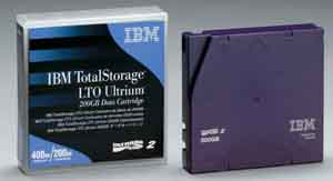 IBM 08L987: Ultrium LTO-2 Cartridge 200GB/400GB