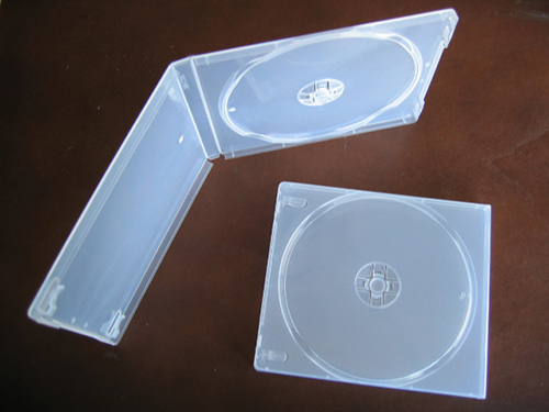 CD Jewel Case - Poly Single 11mm - Clear w/ Sleeve from Am-Dig