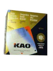 KAO 59001 Diskette 5.25in DS/HD 1.6MB bulk 100pk