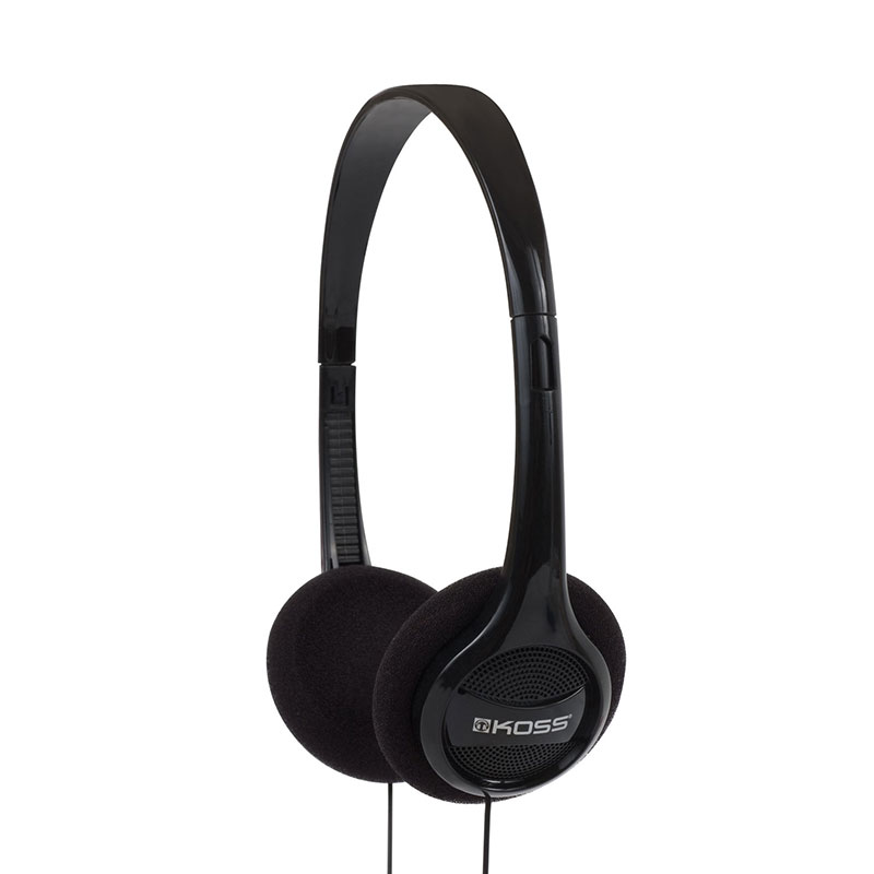 Koss Headphone, KPH7, Portable On Ear, Black, 4ft Cable