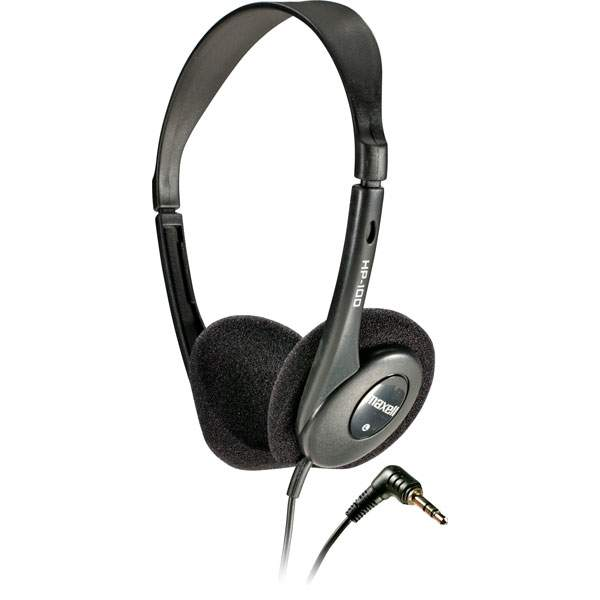 Maxell 190319 Budget Stereo Headphones HP-100
