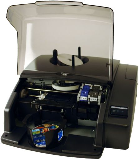 Microboards G4P-1000: Automated Disc Publisher from Am-Dig