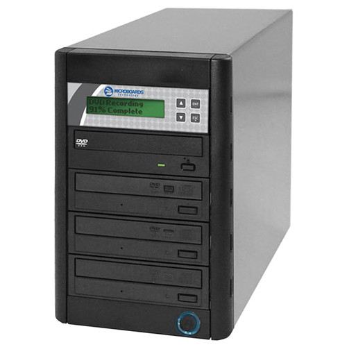 Microboards QD-DVD-123 QuicDisc 1 to 3 Duplicator from Am-Dig