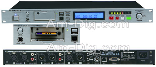 Marantz PMD580 Professional Installation Recorder from Am-Dig