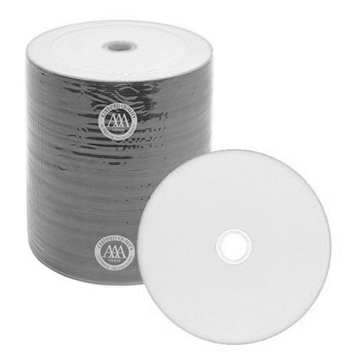 Prodisc / Spin-X 46111120: CD-R 48x White Thermal from Am-Dig