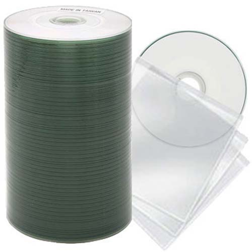 Prodisc / Spin-X 46112334: Mini CD-R White Inkjet from Am-Dig