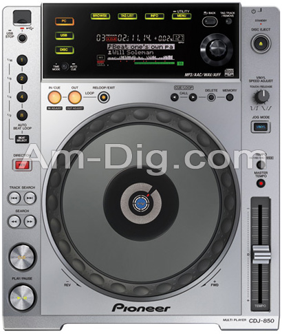 Pioneer CDJ-850: Performance Multi Player from Am-Dig