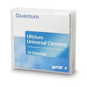 Quantum LTO Ultrium Cleaning Cartridge 50 Pass