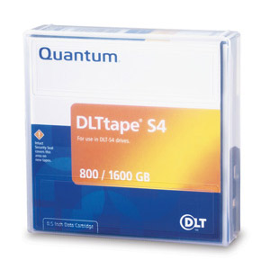 Quantum MR-S4MQN-01: DLT tape S4 800GB 1.6TB from Am-Dig